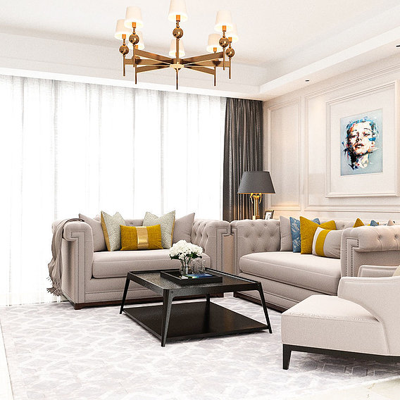 Living Room YOUSIF design