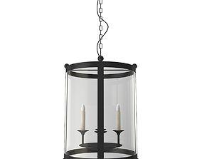 3D model Candle light chandelier