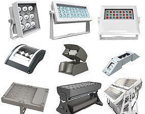 3D Outdoor industrial Lighting Module pack