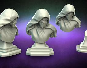 3D printable model Star Wars Kylo Ren bust