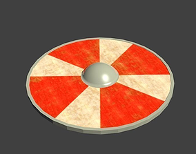 Viking Shield 3D model