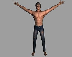 low-poly Cool Guy 3d model