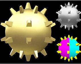 Spike Ball 02 3D asset
