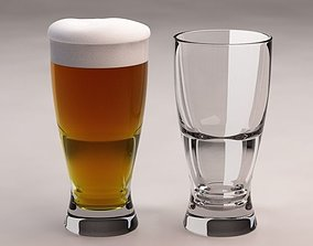 DESIGN-Glass BeerBottle V2 3D model