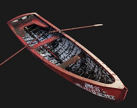3D model The Boat William Blake