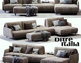 3D asset Ditre Italia ELLIOT Sofa