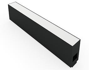 3D model Flos The Running Magnet Strip 300mm