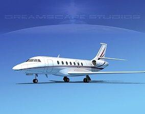 3D model Dassault Falcon 2000 V14