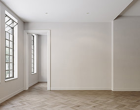 Interior scene empty 3D model