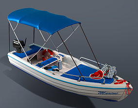 Leisure boat 3D