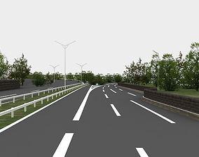 view highway navigation 3D road