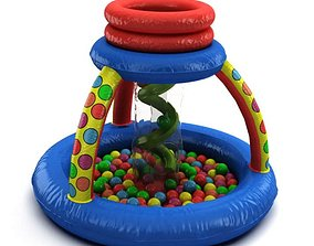 3D Inflatable Child s Ball Pit