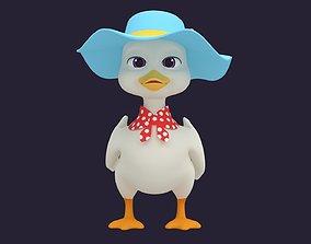 3D Asset - Cartoons - Animals - Duck - Hight poly