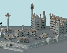 tower 3D asset realtime Castle