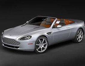 Aston Martin v8 Vantage Roadster 3D