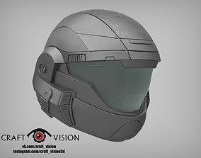 Halo ODST Helmet 3D printable model