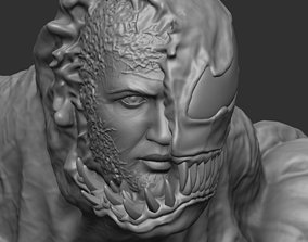 Venom bust 3D print model