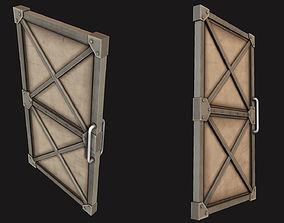 3D asset Steel Door