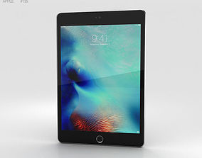 3D Apple iPad Mini 4 Space Gray