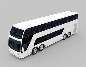 autobus 3D asset