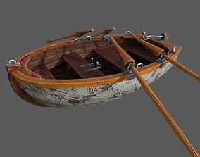 Tiny Boat 3D asset