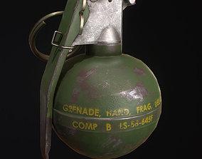 Grenade M67 3D model