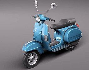 3D Vespa PX 150 2011