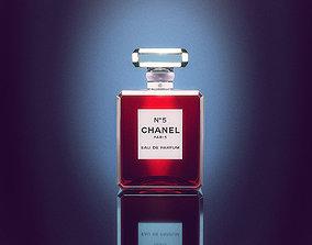 Chanel Perfume Bottle 3D model