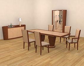 3D model Dining Room 2 Set