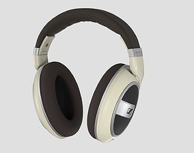 Sennheiser HD 599 Open Back Headphone 3D model