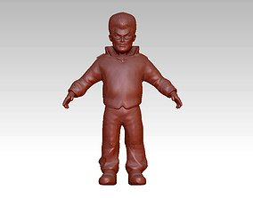 3D printable model Funny cute male character