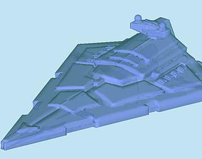 Imperial Star Destroyer darth 3D print model