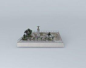 Monument Garden 3D