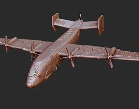 Condor Transport Gears of War 3D Model STL File 3D Print