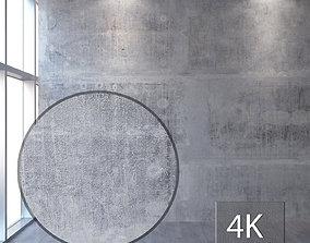 Concrete wall 348 3D model