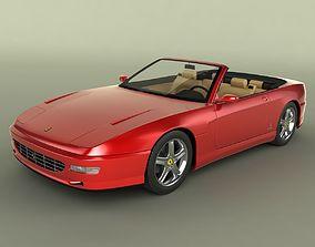 3D model Ferrari 456 GT Convertible
