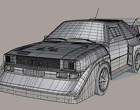 3D Audi S1 Quattro group B