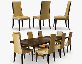 Michael Berman - Noji dining chair 3D