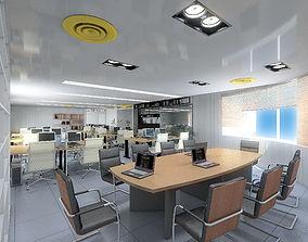 3D model Office Interior 03