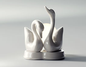 Two Swans 3D