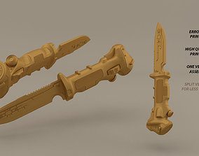 Data Knife TitanFall 3D print model