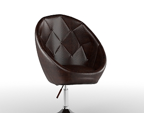 Leather Chair 3D model chair