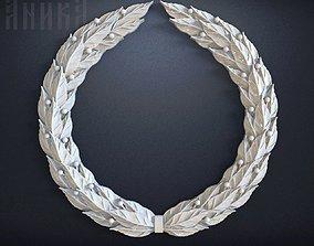 Laurel wreath 3D printable model