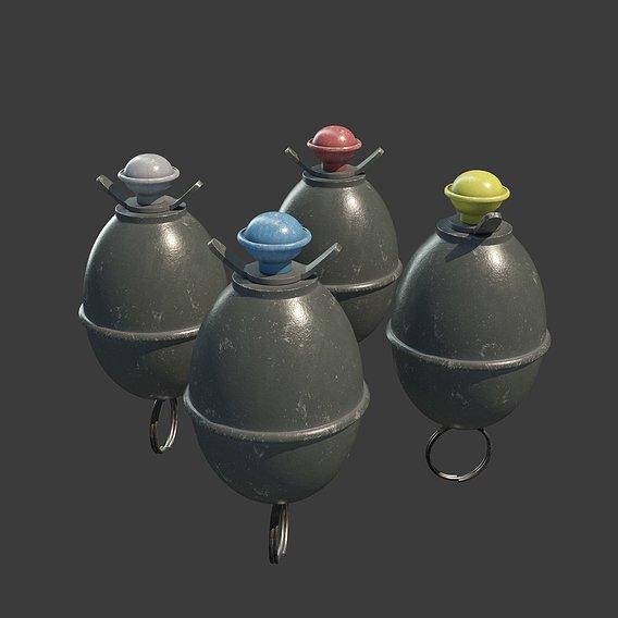 M39 Eihandgranate or Eierhandgranate (Egg Hand Grenade)