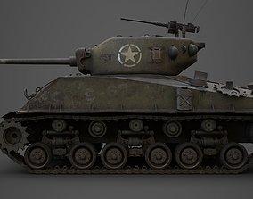 sherman M4 3D asset