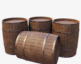 Stack of Barrels 3D model