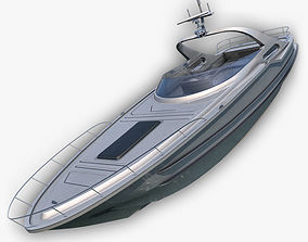 Luxury Yacht 3D