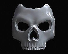 Metal Ghost Mask 3D printable model