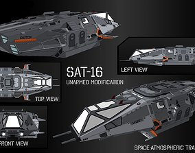 Space-Atmospheric Transport SAT-16 Unarmed modification 3D