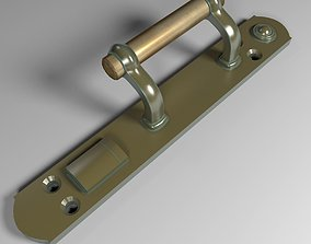 3D model Door handle XIX century
